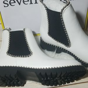 Seven Dials Shoes - NWT Seven Dials Shelley studded leather ankle boot